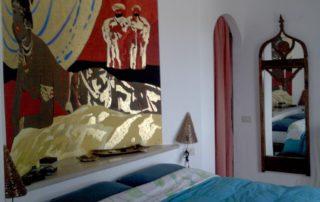 Villa Jamila Interno Camera da Letto