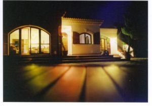 Villa Jamila Esterno Notturna
