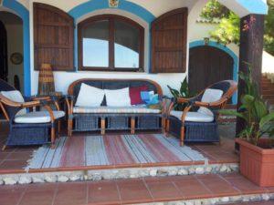 Villa Jamila Esterno Veranda